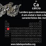 cálcio metálico