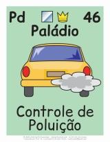 controle da poluição com o elemento paládio