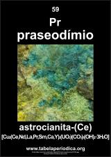 mineral que contém o elemento