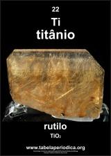 rutilo contém titânio