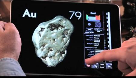 Aplicativo para iPad – Os elementos: Uma exploração visual