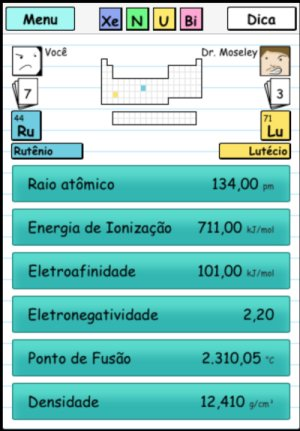 Xenubi – Jogo da Tabela Periódica