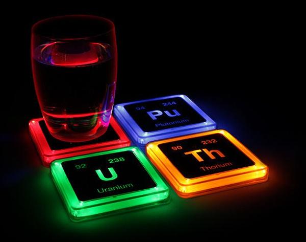 porta copos que brilham