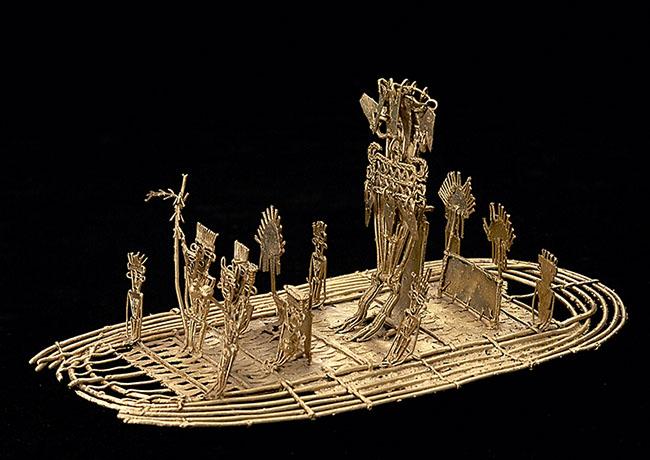arte em ouro