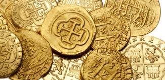 antigas moedas de ouro