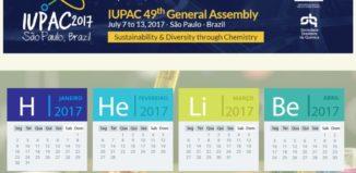 cada mês um elemento químico
