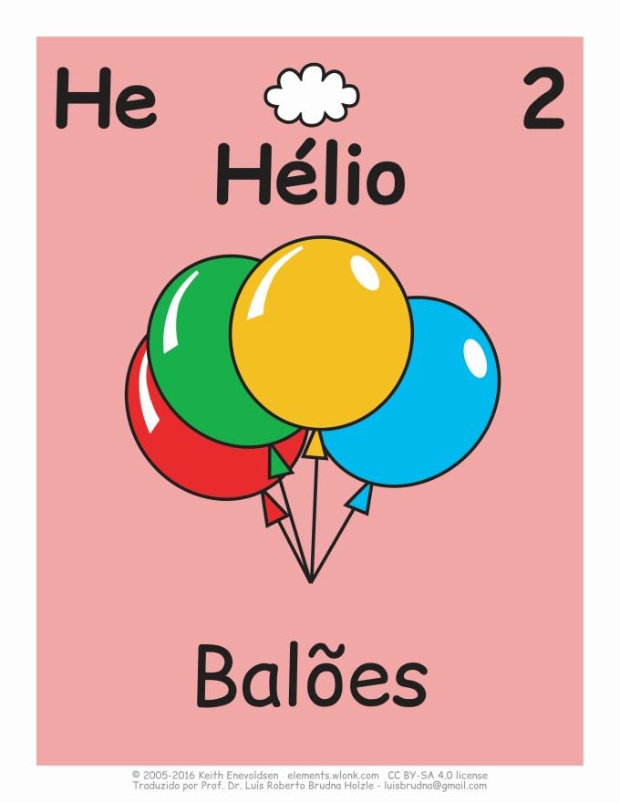 cartoon com balões coloridos