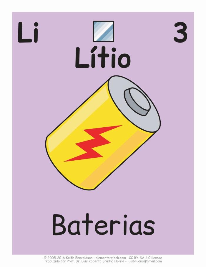 desenho cartoon de uma bateria