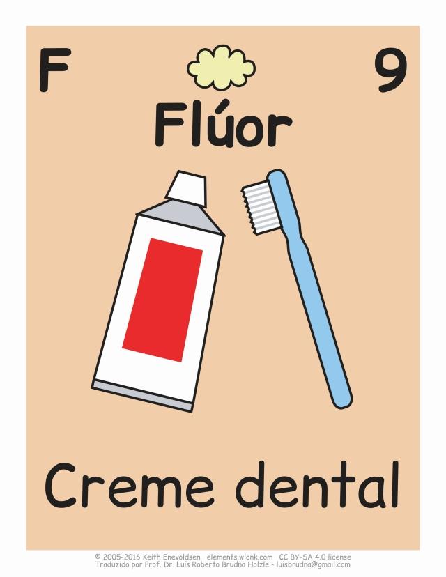 escova e creme dental em desenho