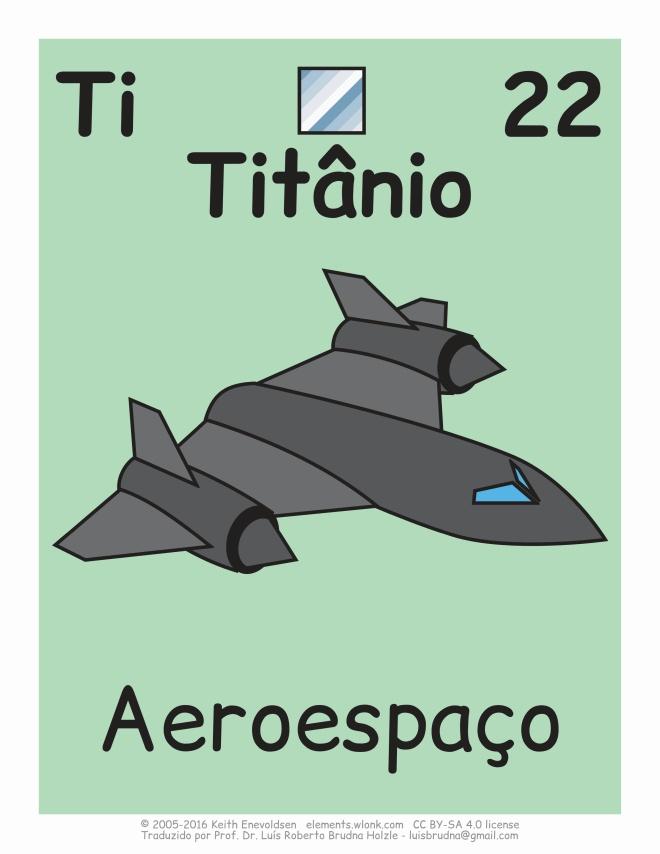 aeronave contém titânio
