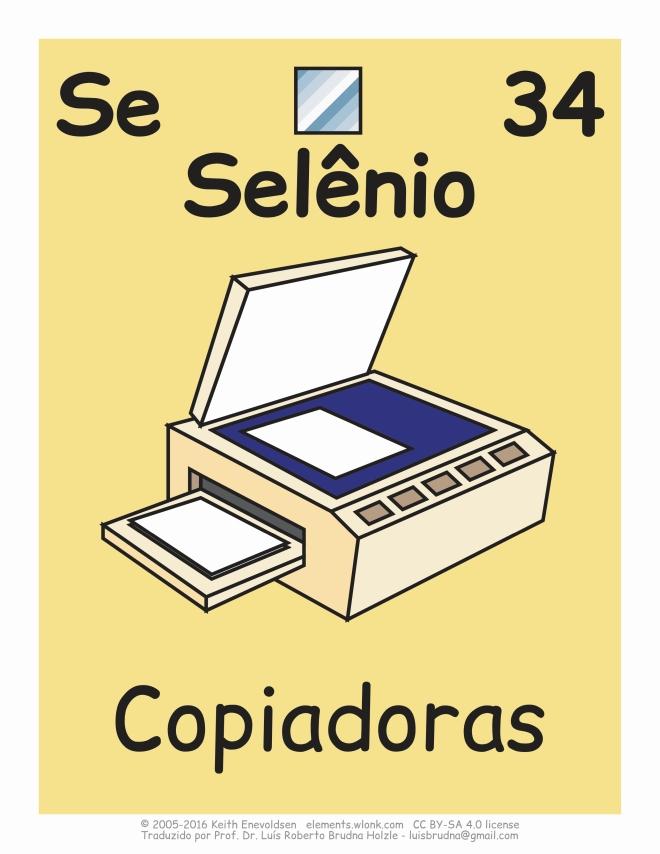 cotiano e importância do elemento químico selênio