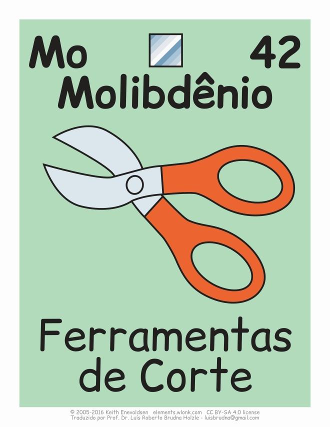 onde está localizado o molibdênio no cotidiano