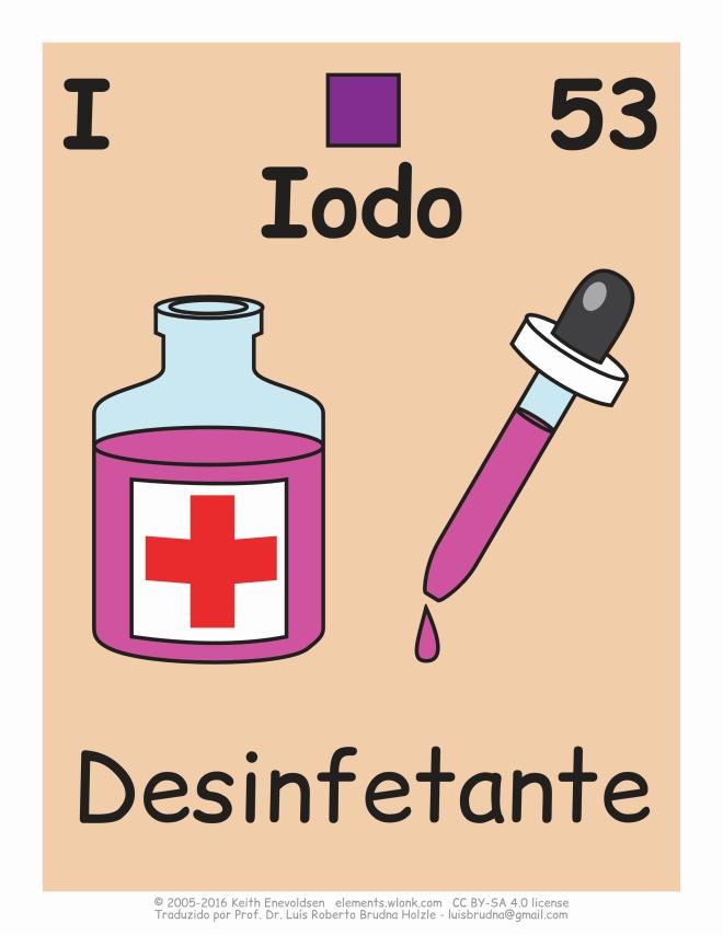 iodo em desinfetantes