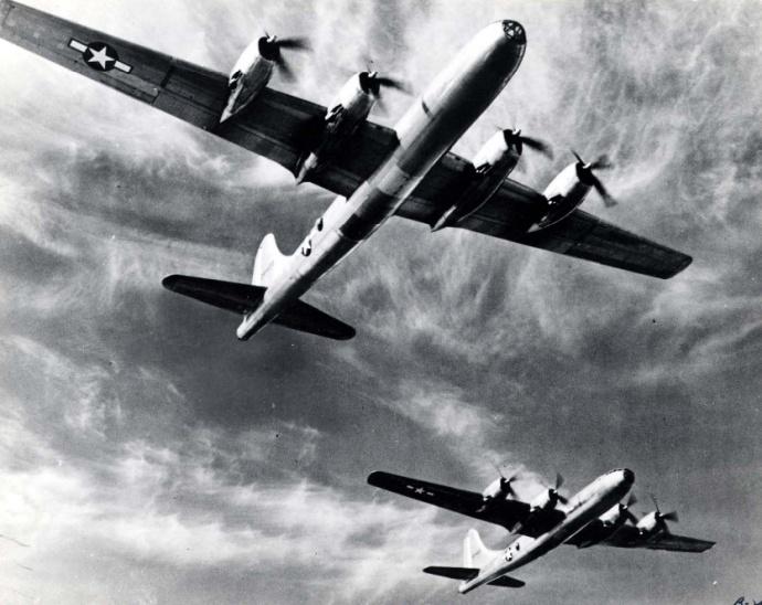 avião model b 29