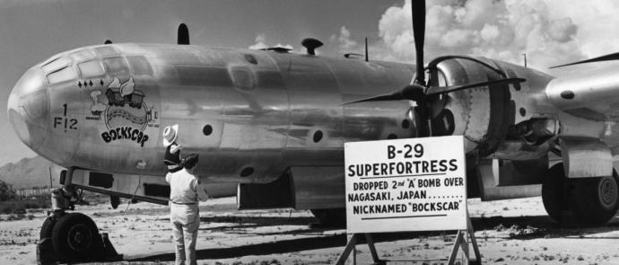 avião militar tipo b29