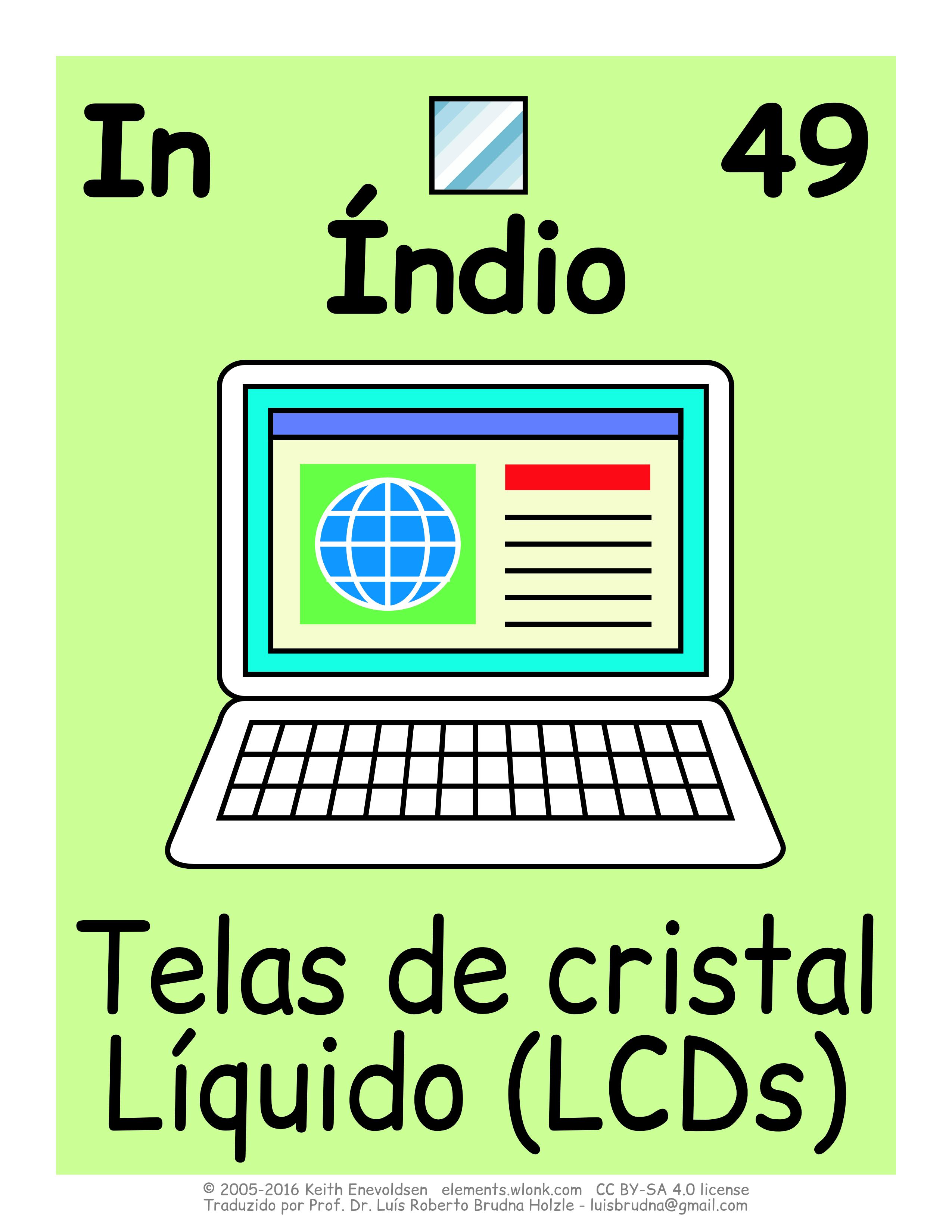 Aplicações industriais e uso no cotidiano do elemento índio | Tabela Periódica