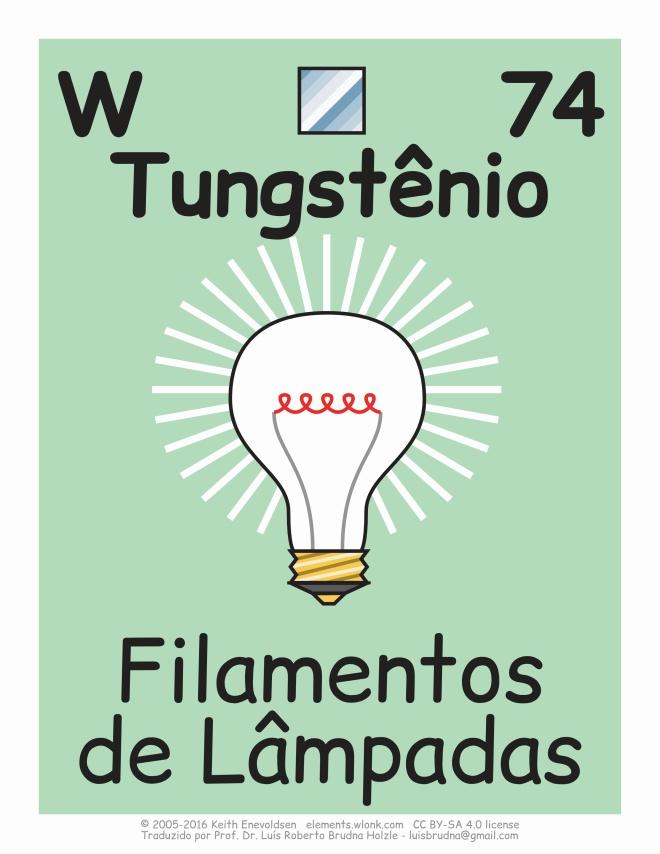 onde existe o tungstênio