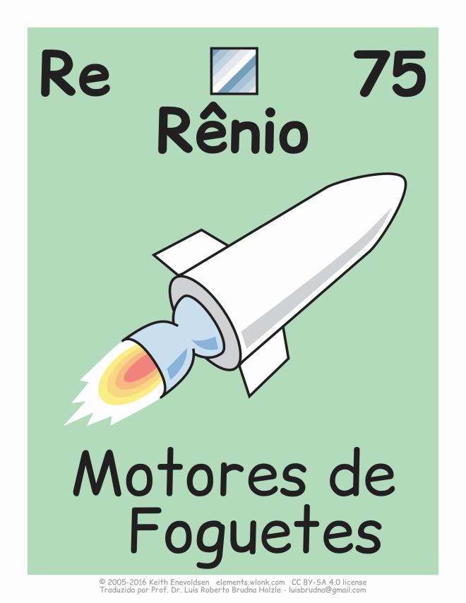 elemento químico rênio e seus usos