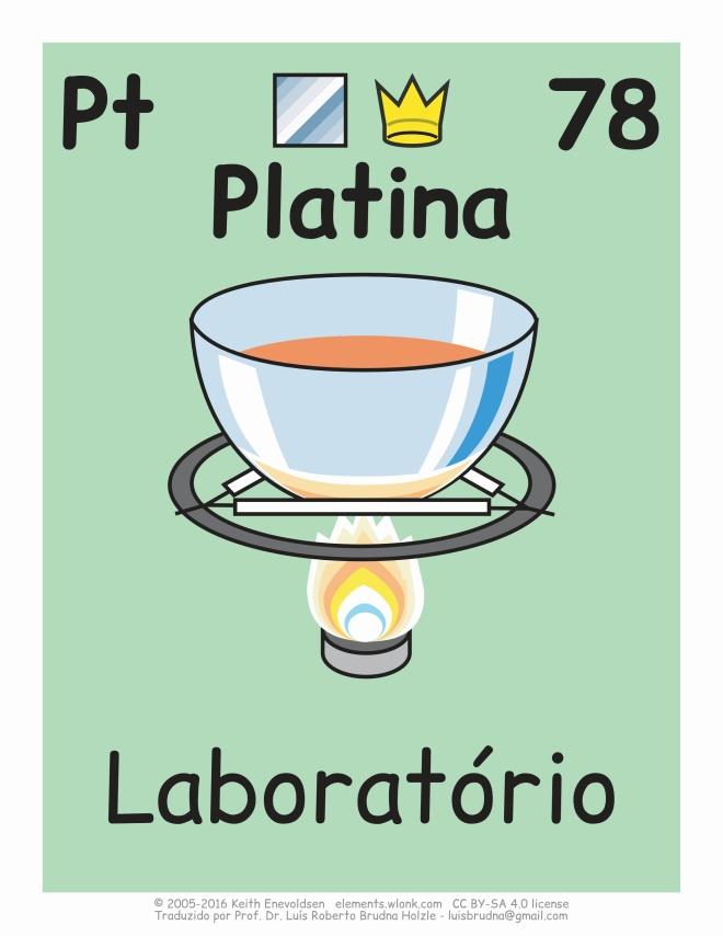 usos da platina na indústria química