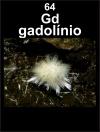 gadolinio em mineral