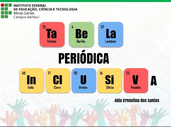 Tabela Periódica Inclusiva